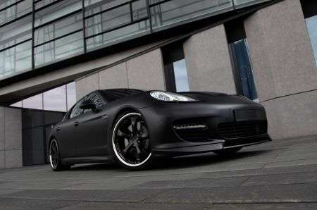 Tuning Posche: Techart Panamera black edition