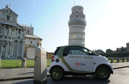 Smart electric drive: e-mobility Italy a Pisa
