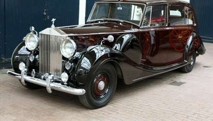 Auto d'epoca Rolls Royce, Jaguar e Aston Martin al Royal Wedding