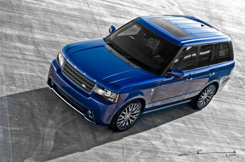 Tuning – Range Rover Vogue Bali Blue RS450 by Project Kahn