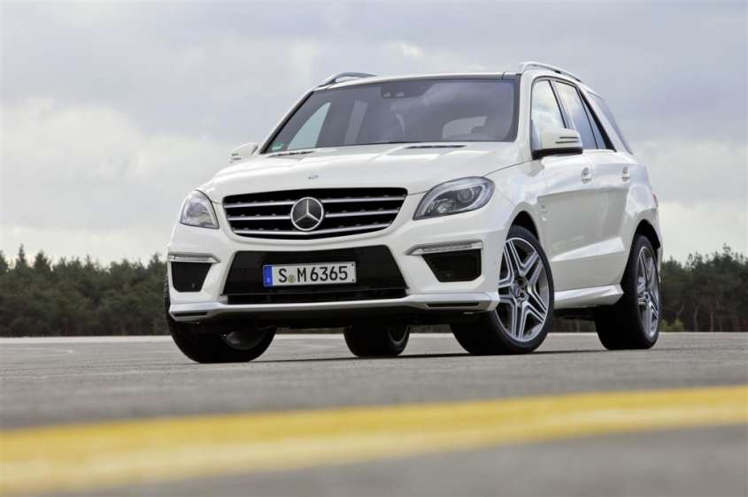 Mercedes ML 63 AMG 2012, ad aprile nelle concessionarie
