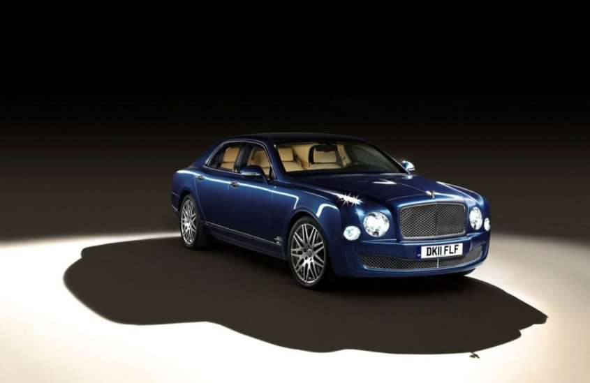 Bentley Mulsanne Theatre e iPad Specifications al Salone di Ginevra 2012 [FOTO]