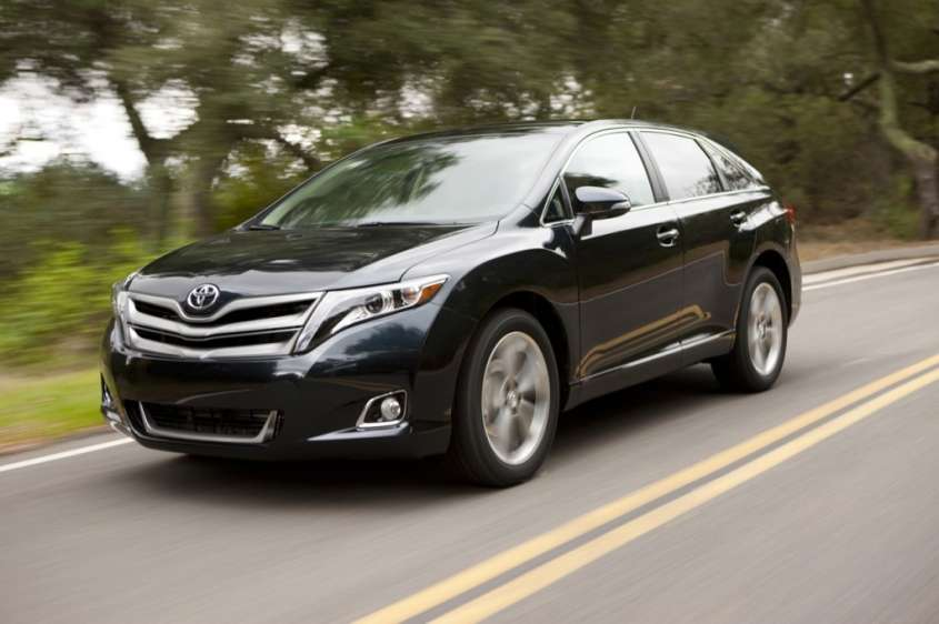 Toyota Venza 2013: foto ufficiali del model year