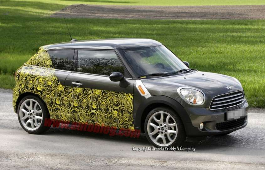 Mini Countryman Coupè, foto spia