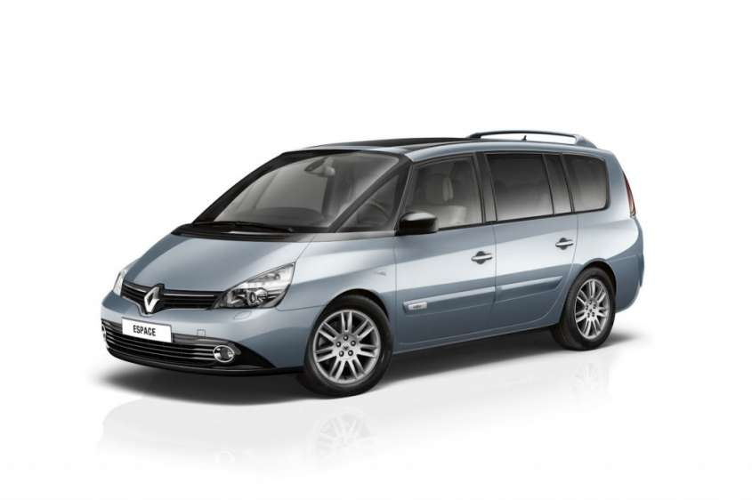 Renault Espace 2012 restyling, foto ufficiali