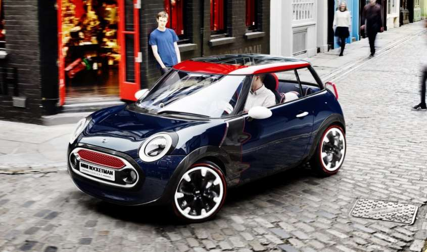 Mini Rocketman MkII, foto ufficiali