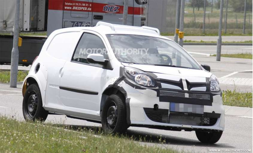Smart ForFour 2015, foto spia