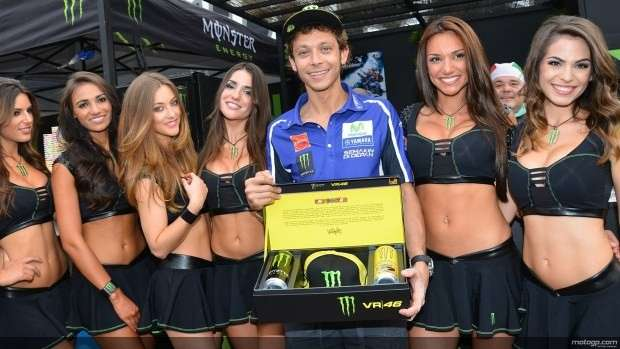 Monster girls con Valentino Rossi