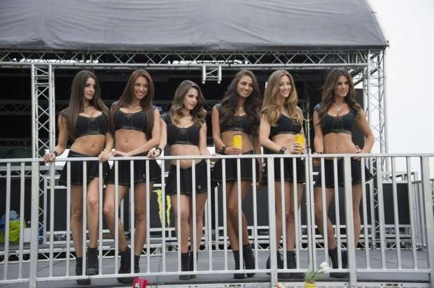 Monster Girls MotoGP Barcellona 2014