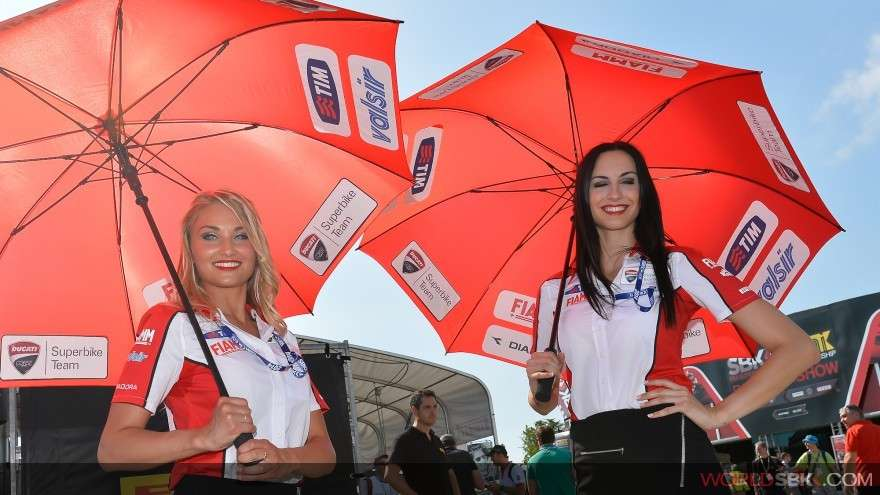 misano superbike 2014 grid girls 16