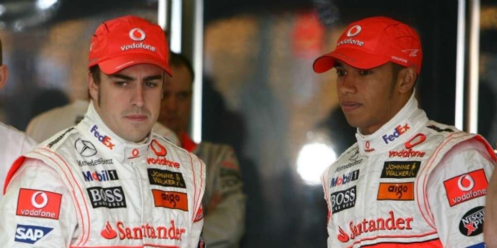 Hamilton e Alonso in McLaren