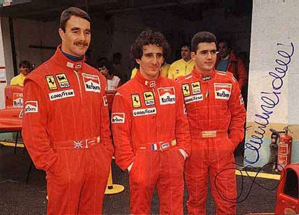 Prost con Mansell