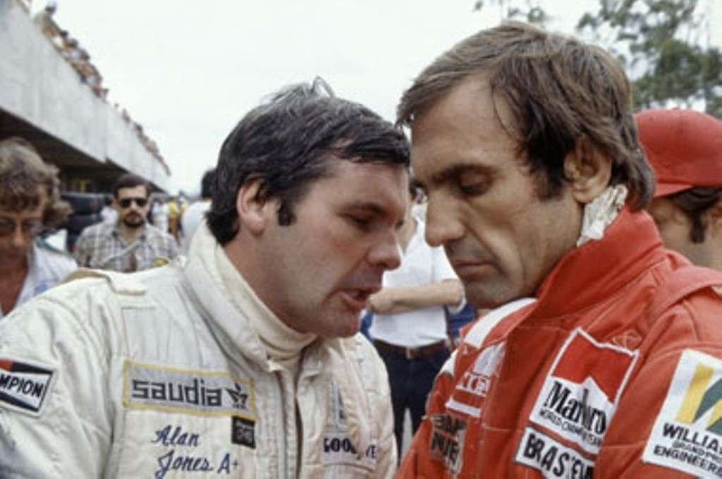 Reutemann con Jones