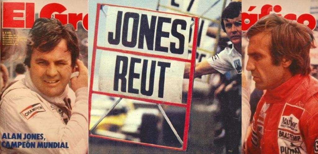 Reutemann e Jones