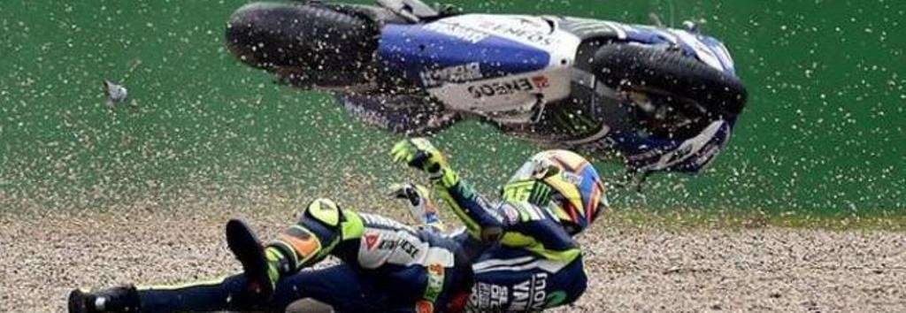 Incidenti di Valentino Rossi