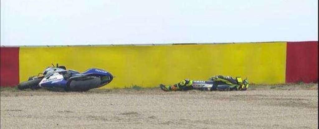 Rossi out