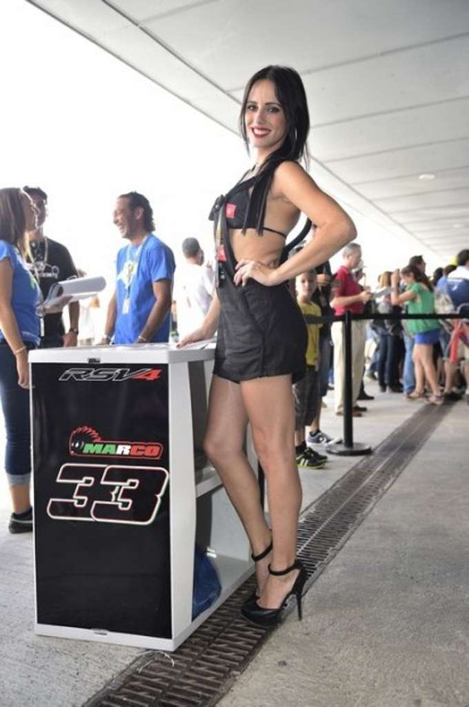 Grid Girls SBK 2014