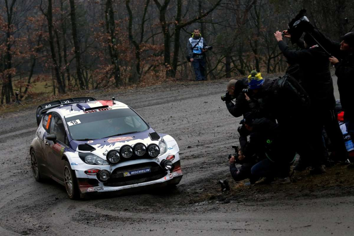 Rally Montecarlo 2015, Ford Fiesta RS (2)