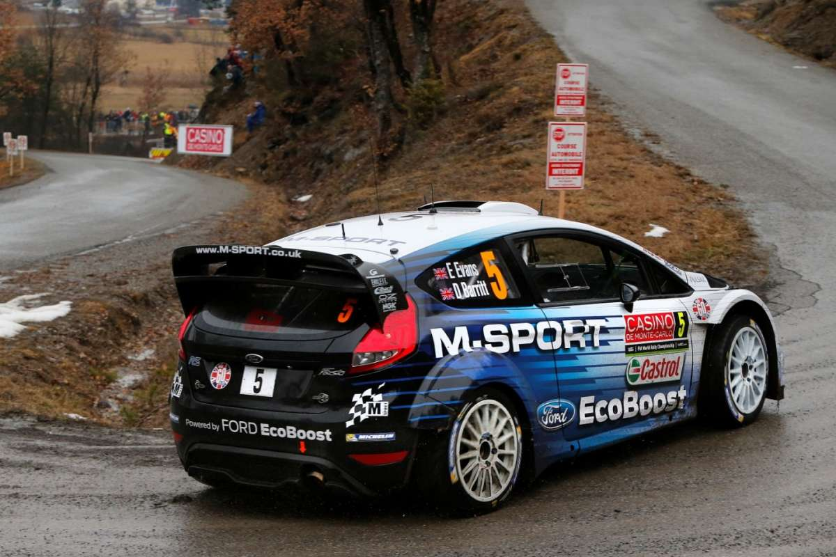 Rally Montecarlo 2015, Ford Fiesta RS (3)