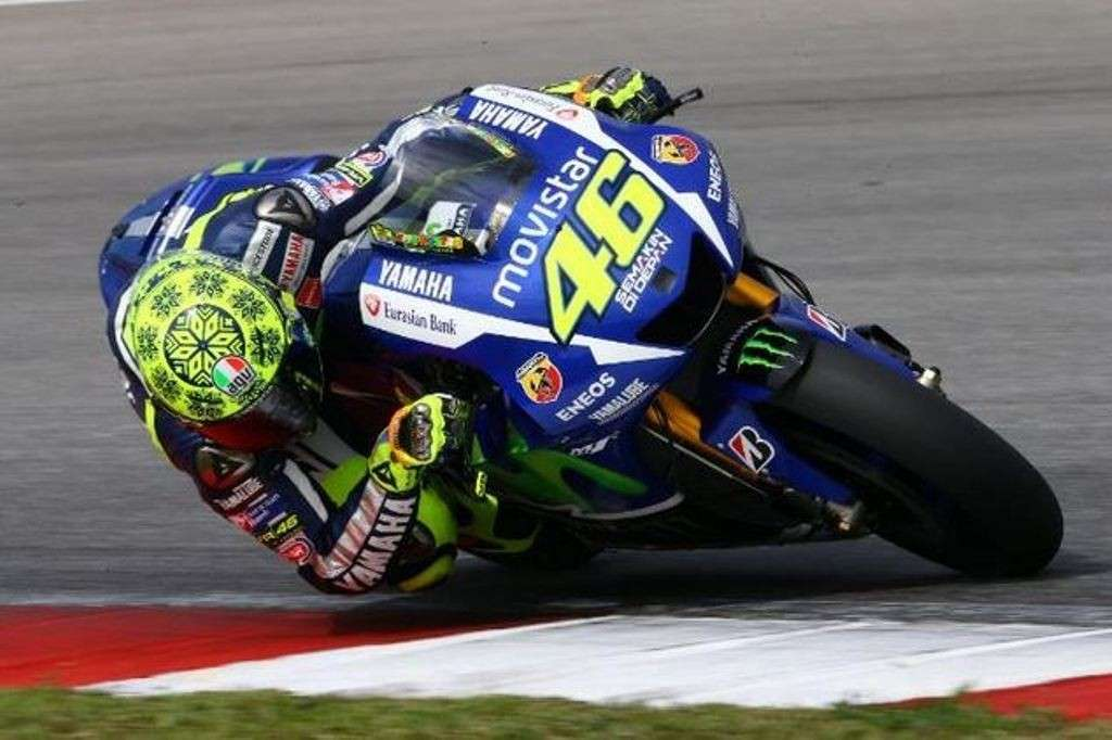 Test Sepang Day1, Valentino Rossi