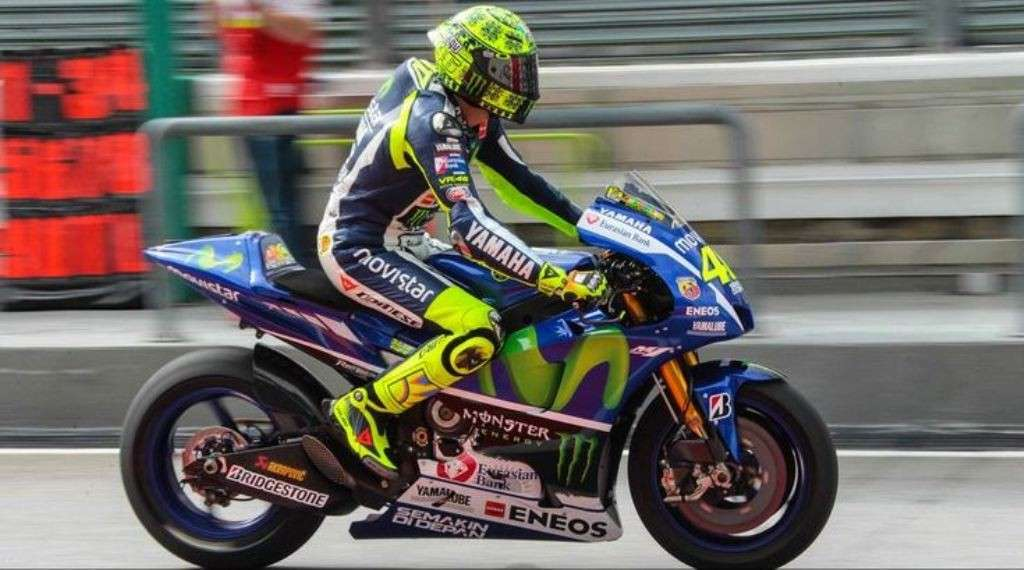 Test Sepang Day1, Rossi in pista