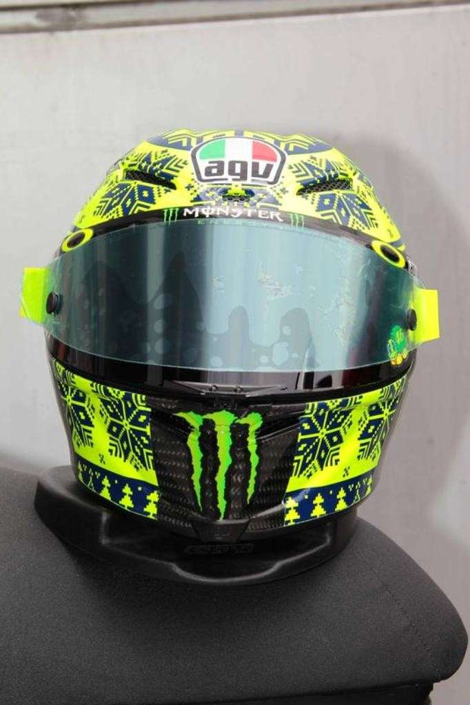 Test Sepang, casco berretto