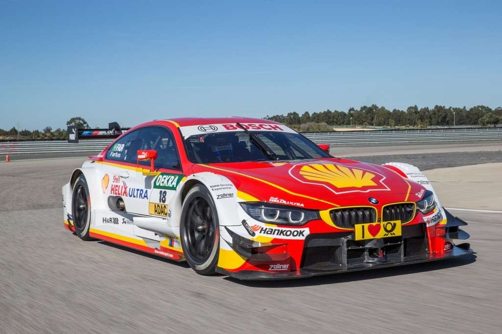 Shell BMW M4 DTM