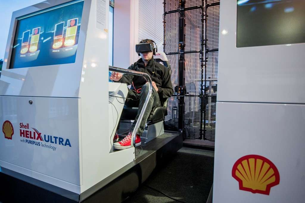 Shell Helix VR Experience