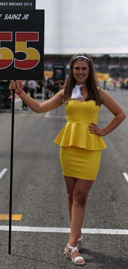 Grid Girls Silverstone 02