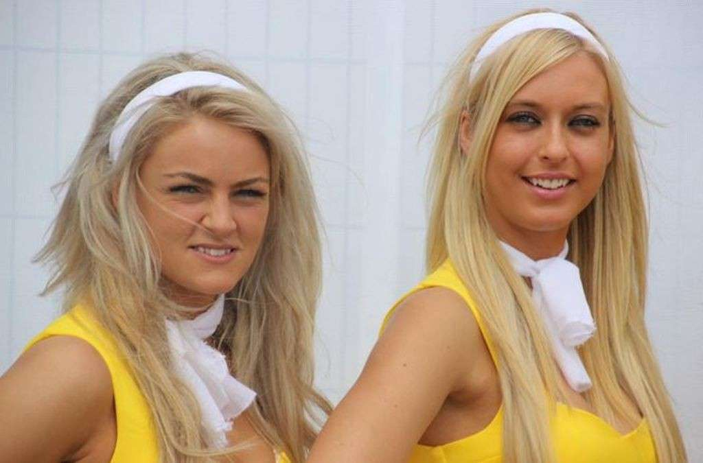 Grid Girls Silverstone 11