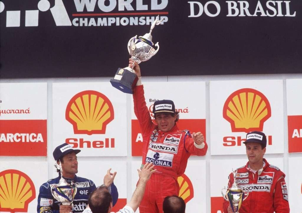 Ayrton Senna Interlagos 1991