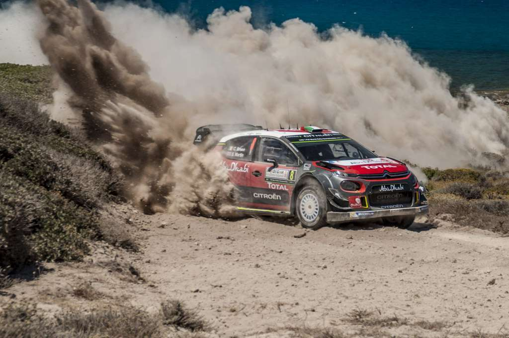 Rally Sardegna 2017 Citroen Breen Power Stage