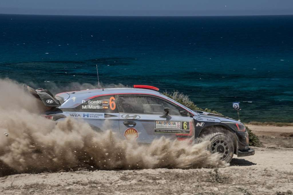 Rally Sardegna 2017 Sordo Power Stage