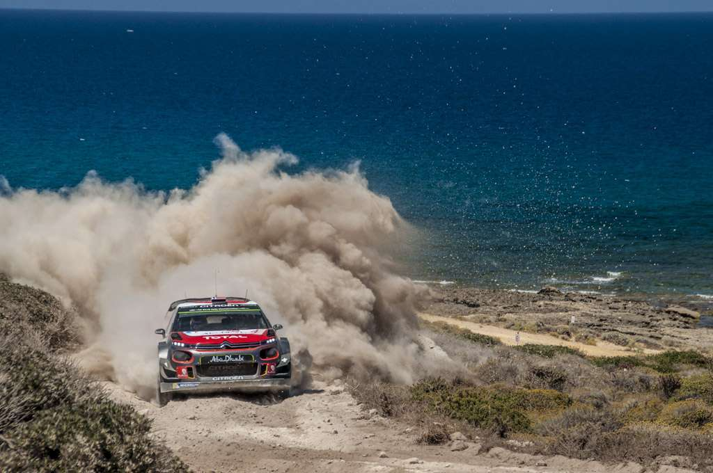 Rally Sardegna 2017 Citroen Mikkelsen Power Stage
