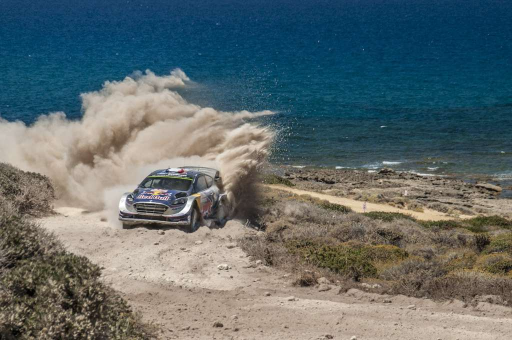 Rally Sardegna 2017 Ogier Power Stage