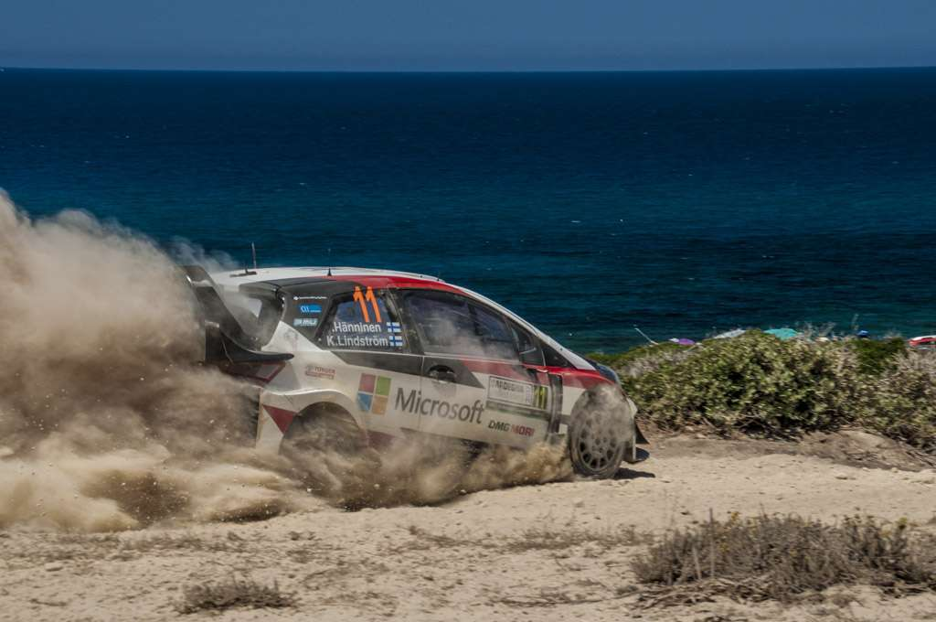 Rally Sardegna 2017 Hanninen Power Stage