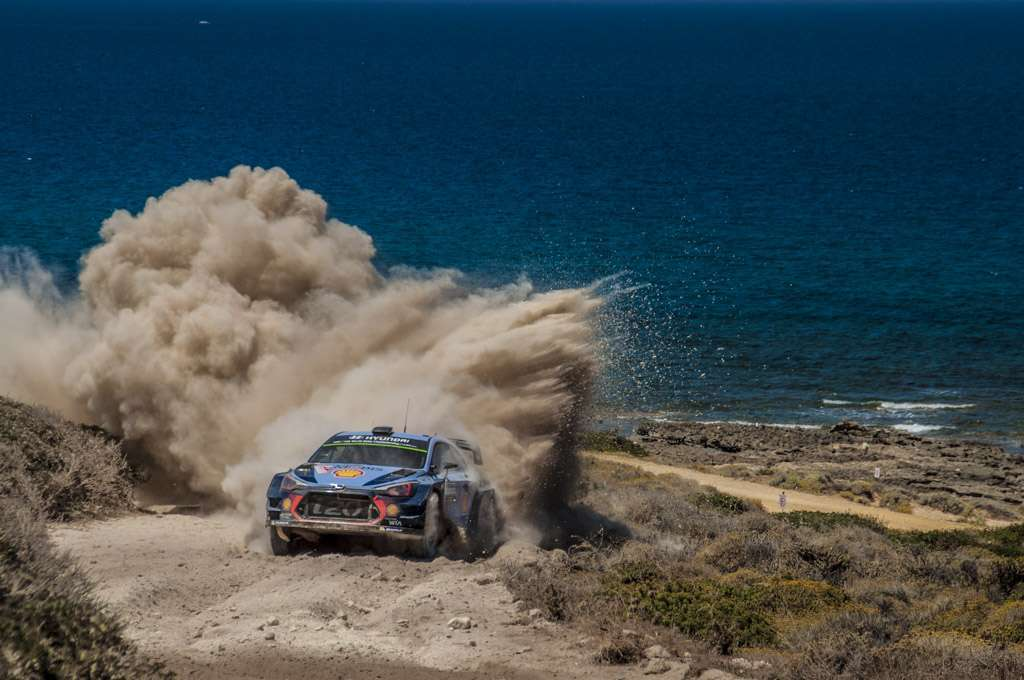 Rally Sardegna 2017 Neuville Power Stage