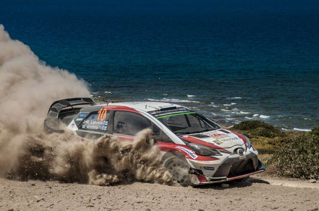 Rally Sardegna 2017 Latvala Power Stage