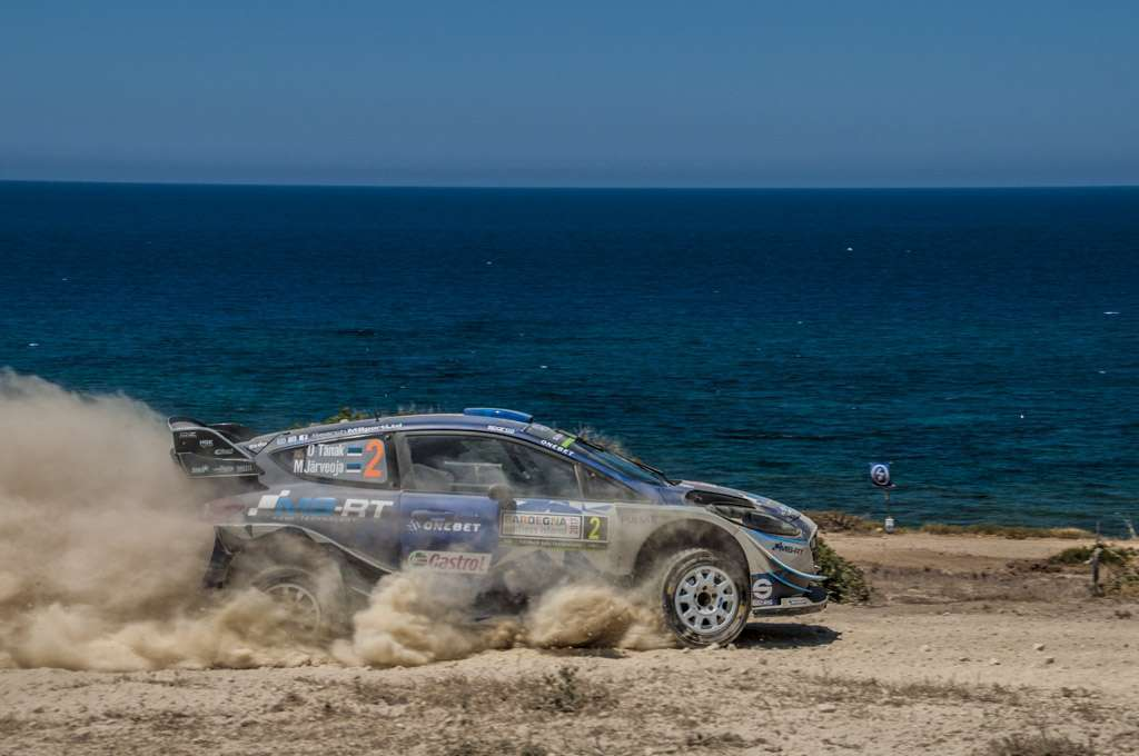 Rally Sardegna 2017 Tanak Power Stage