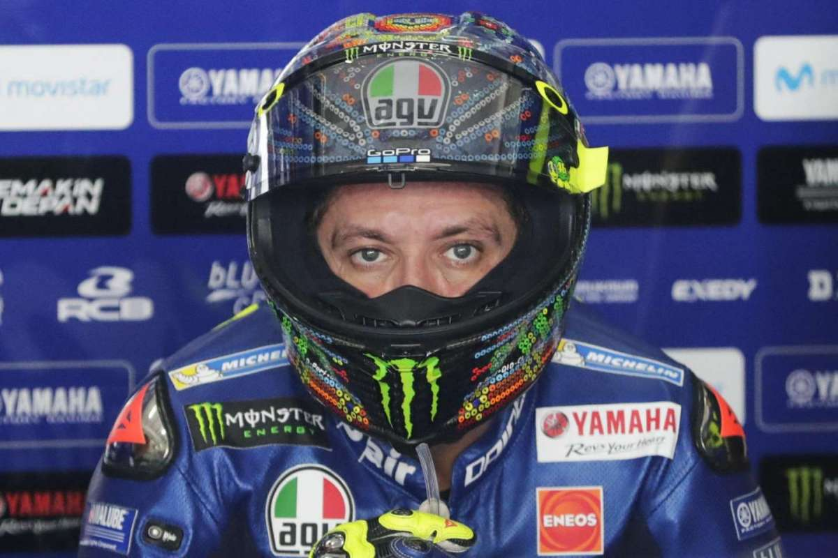 Team Moto GP 2018 Yamaha - Rossi team