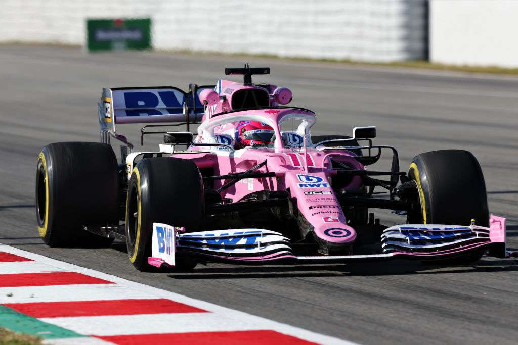 Racing Point ancora in rosa