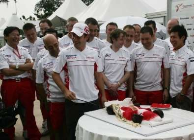 Compleanno Timo Glock