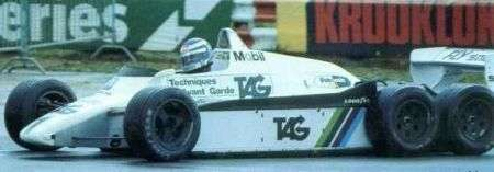 Williams sei ruote 1981