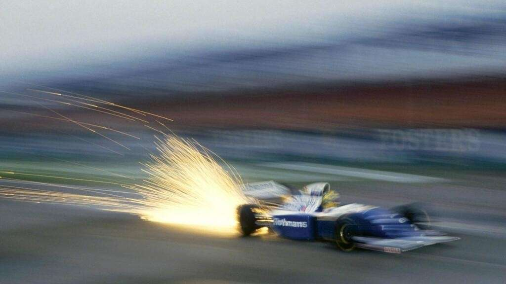 La Williams di Senna nel 1994