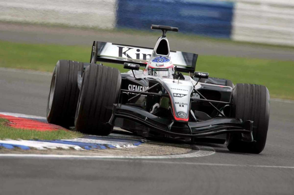 Kimi Raikkonen 2004 in Germania