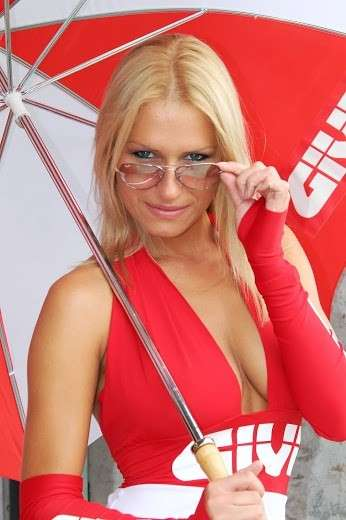 Grid Girls MotoGP 2013