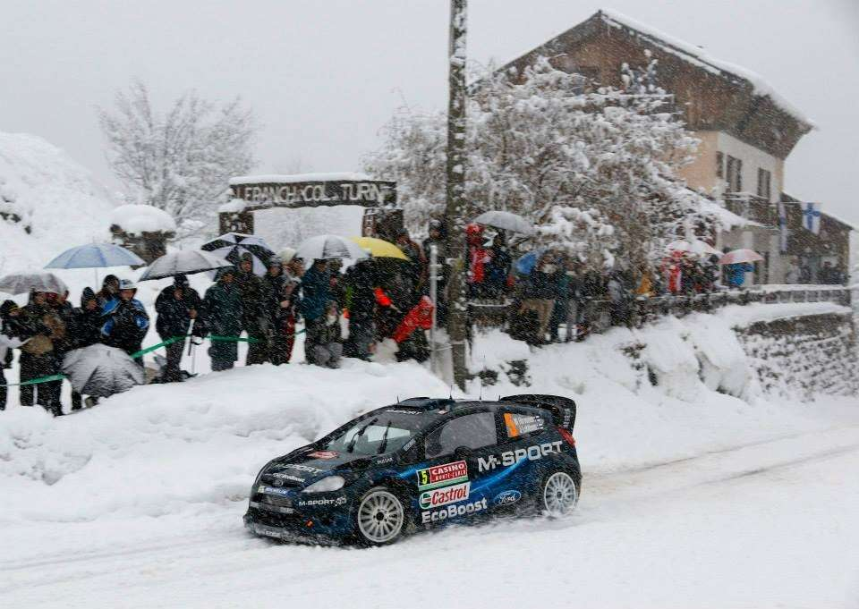 Ford Fiesta RS Rally Montecarlo 2014 (5)