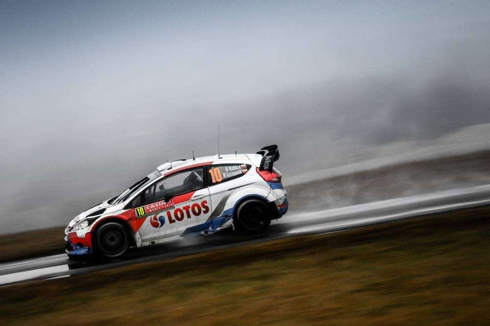 Ford Fiesta RS Rally Montecarlo 2014, Kubica