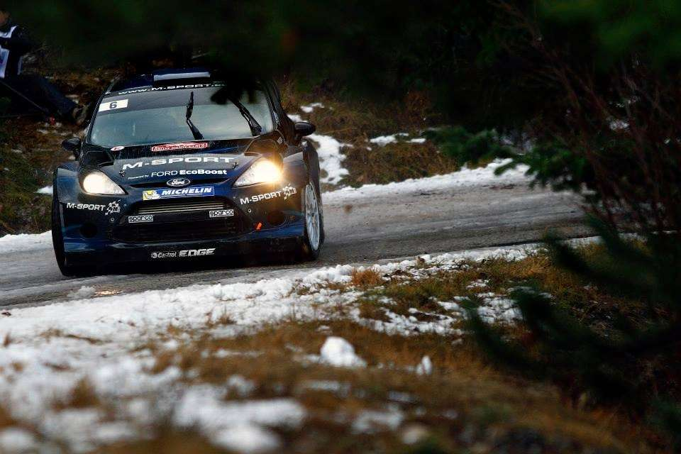 Ford Fiesta RS Rally Montecarlo 2014