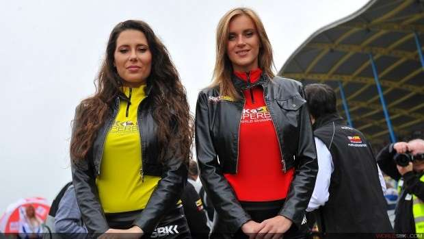 grid girls in Olanda